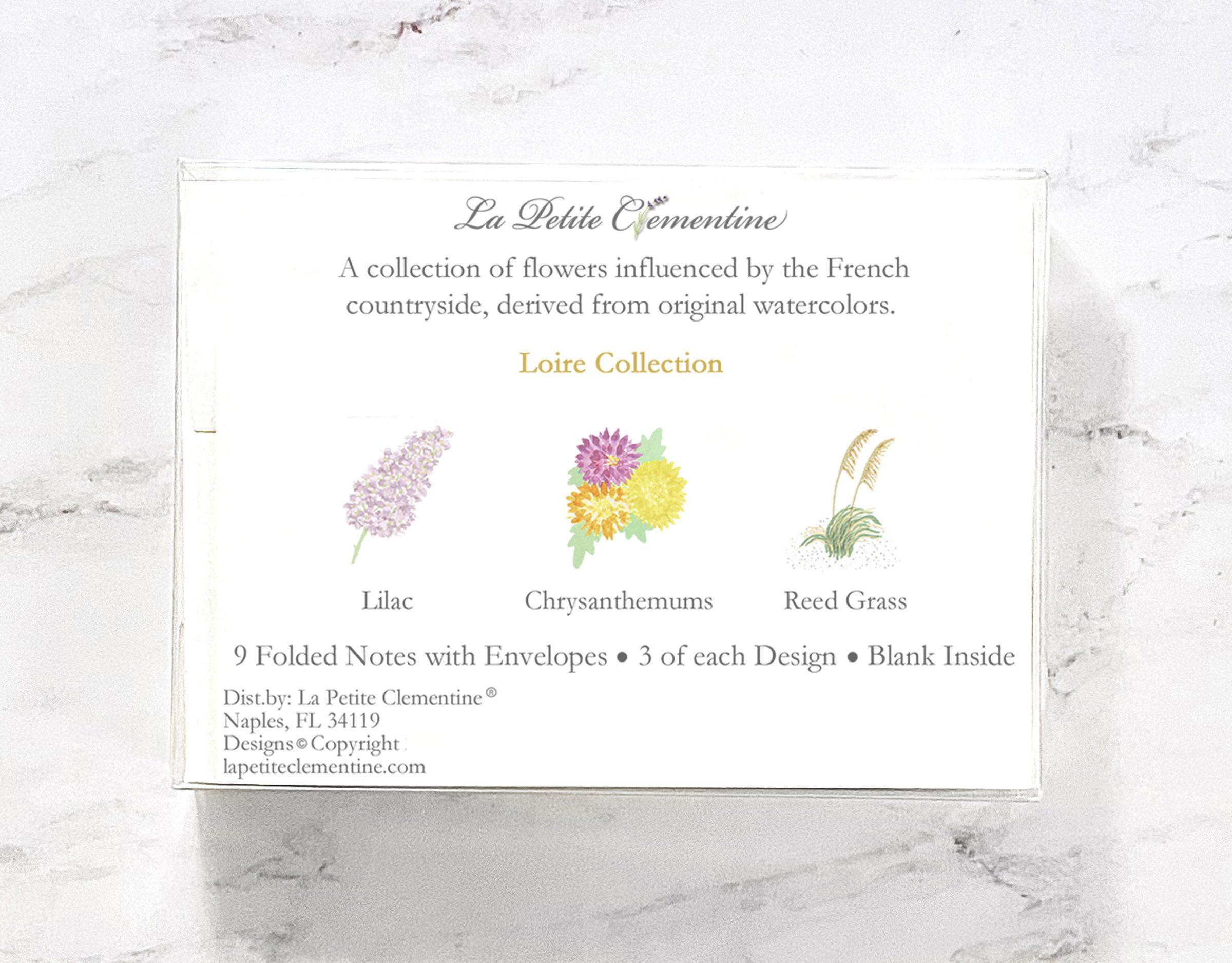 Loire Note Card Box