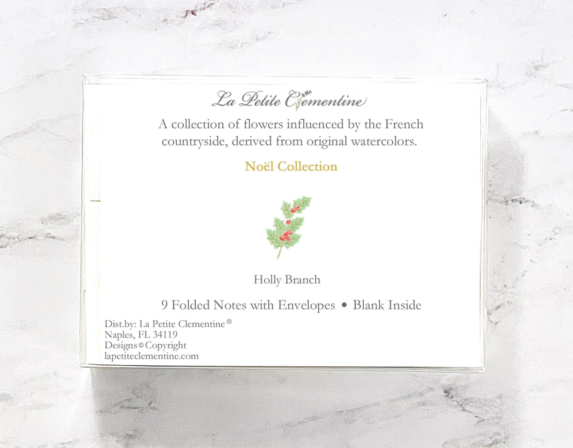 Noel Note Card Box