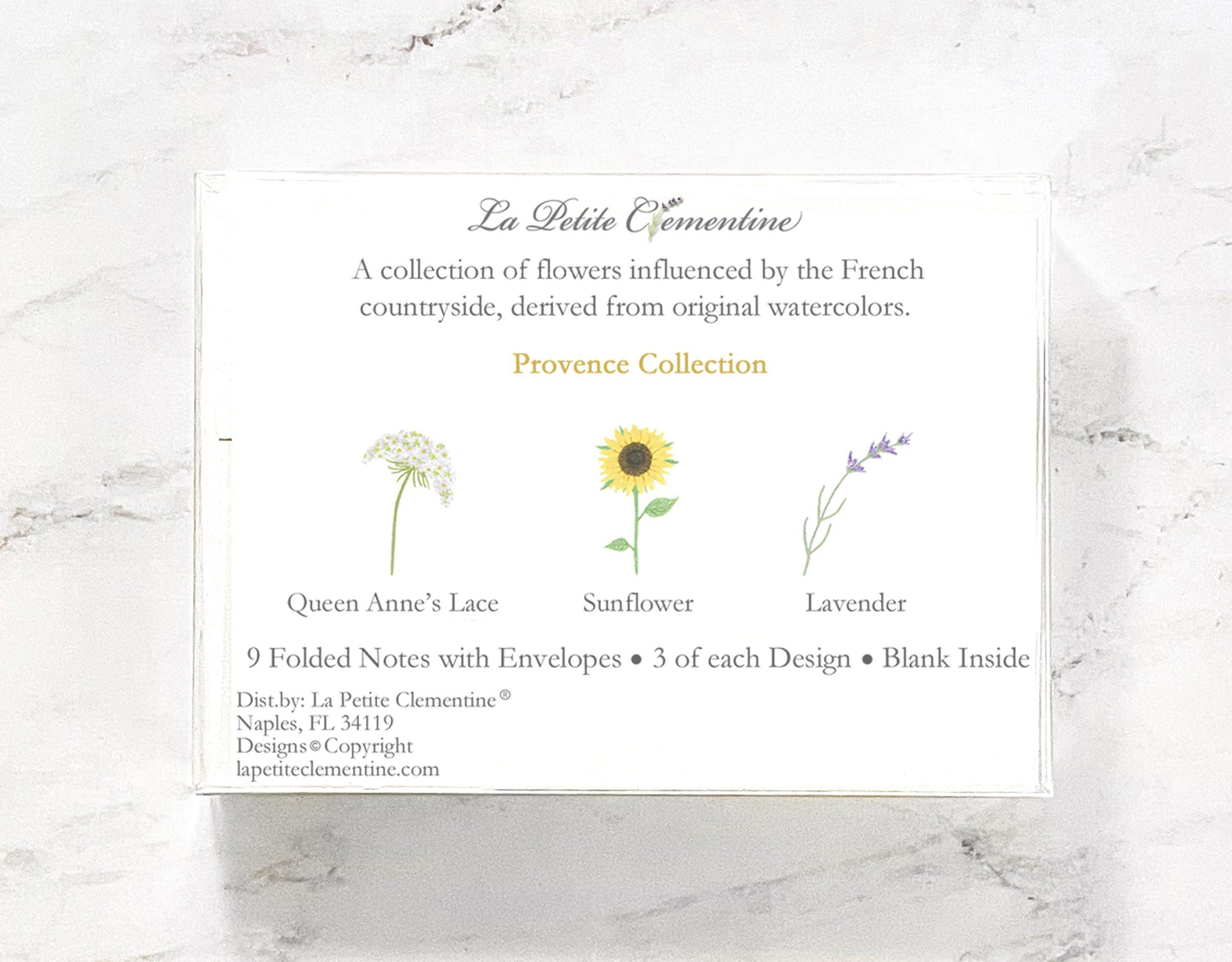 Provence Note Card Box