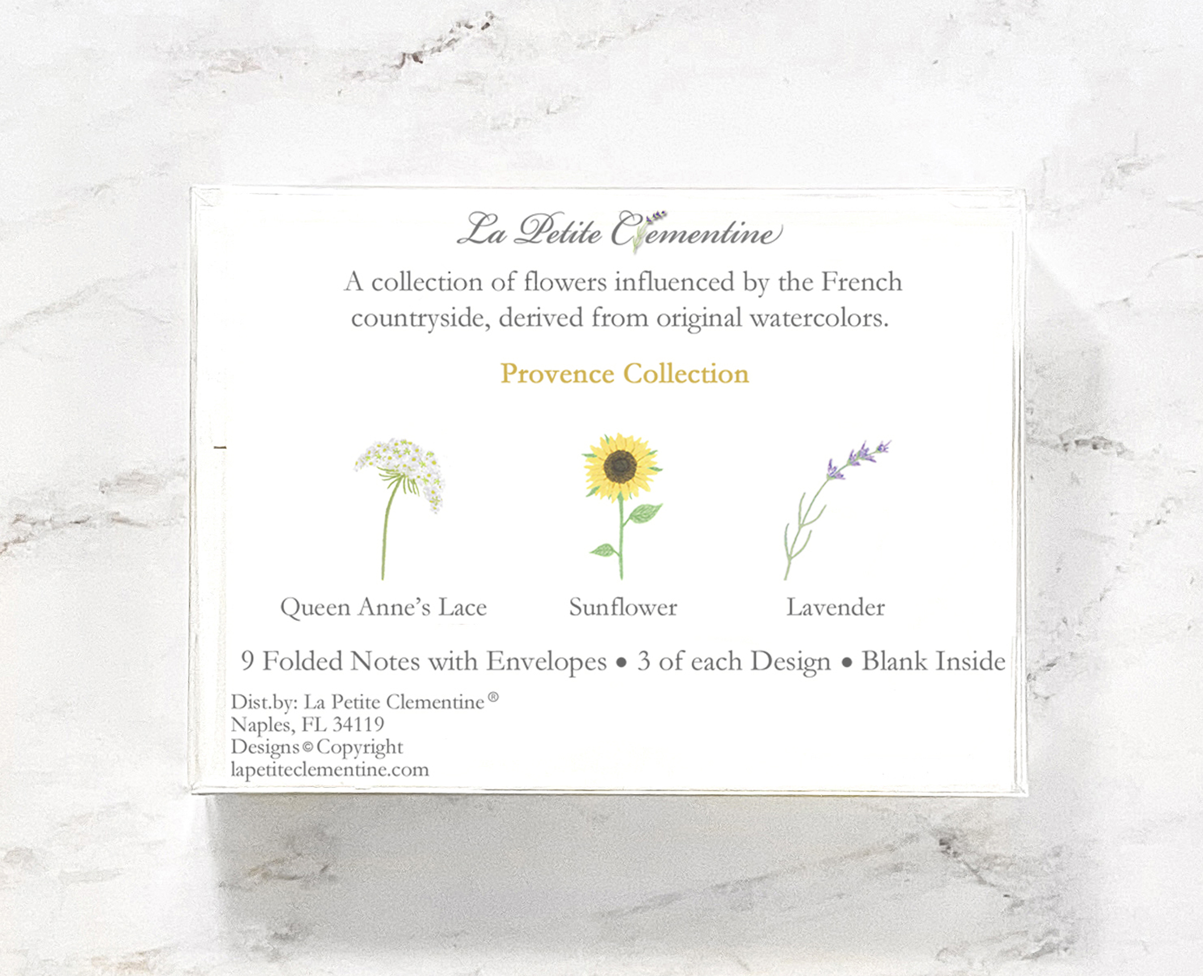 French Countryside Stationery